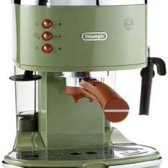De'Longhi Vintage Icona ECOV310.GR Pump Espresso and Cappuccino Machine / from $300