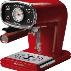Ariete 0.9 Litre 900 Watt Caffé Retro / from $200
