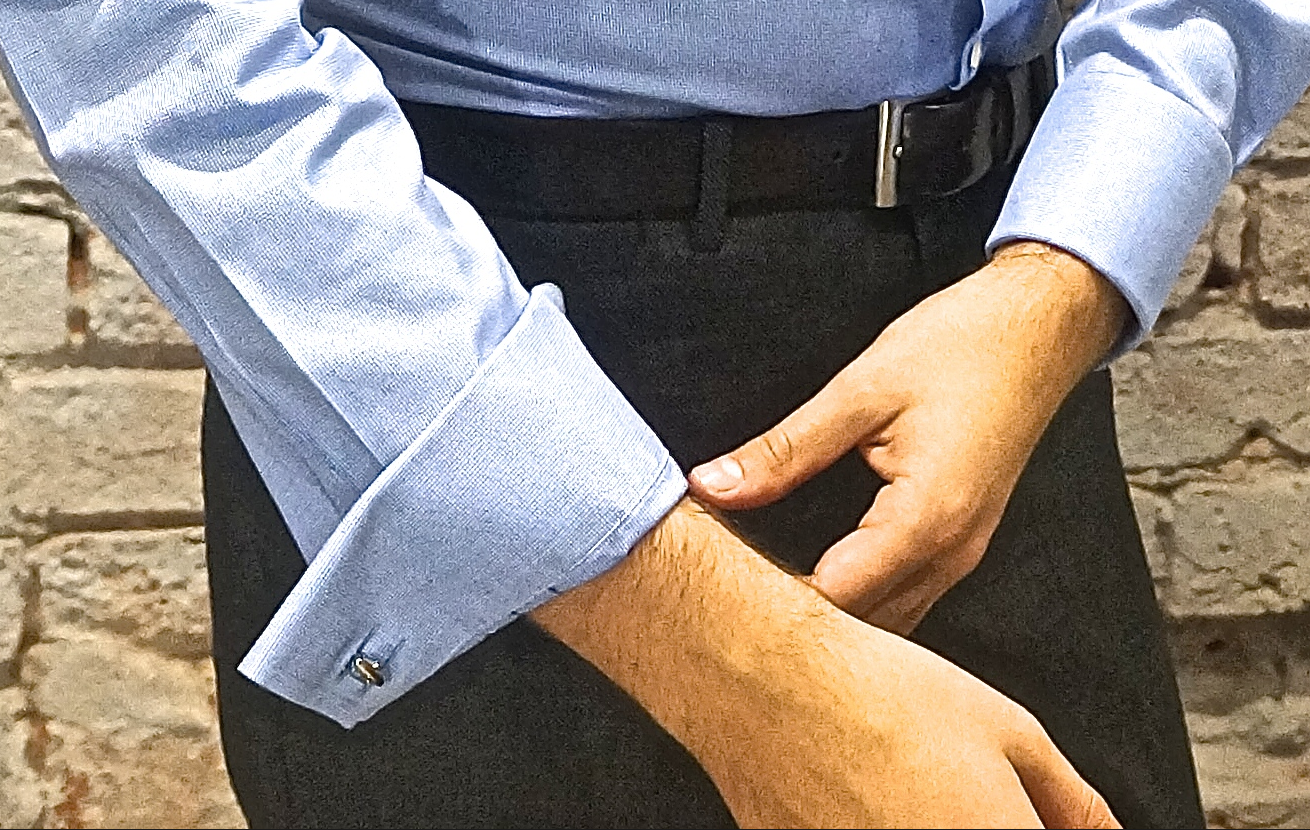 Business monday how to roll up your shirt sleeves boyman for How to hand wash white shirt