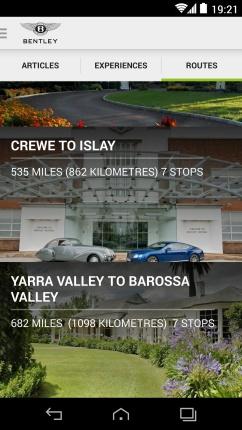 Bentley app screen routes_High Res
